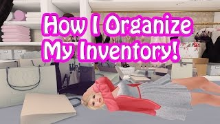 How I Organize My Second Life Inventory!