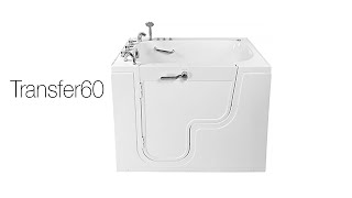 Transfer 60 Handicapped Wheelchair Accessible Walk-In Tub Video