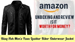 Leather Jacket Unboxing   Amazon Products Review   Video Shop