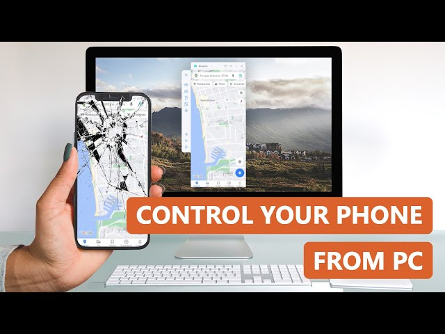 How to Remotely Control Phone from PC