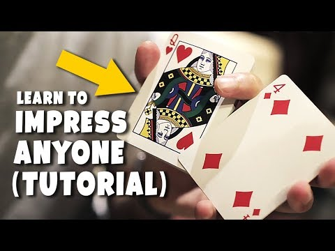 The COOLEST Move With PLAYING CARDS : SLEIGHT TUTORIAL
