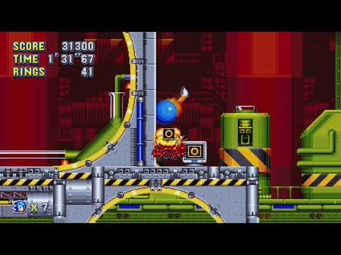 Sonic Mania Walkthrough - Sonic & Tails - Lava Reef Zone by