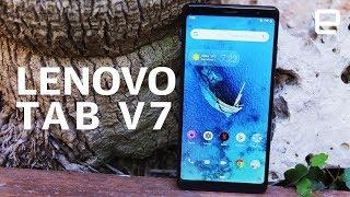 Lenovo Tab V7 Hands-On at MWC 2019: A massive mid-range phone
