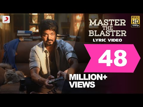 MASTER THE BLASTER SONG LYRICS – MASTER 2021 Tamil Movie