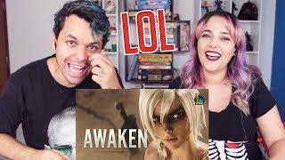 REACT Awaken (ft. Valerie Broussard) | League of Legends Cinematic - Season 2019