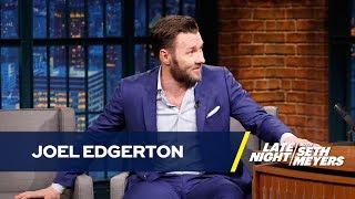 Joel Edgerton's It Comes at Night Co-Star Bit Him