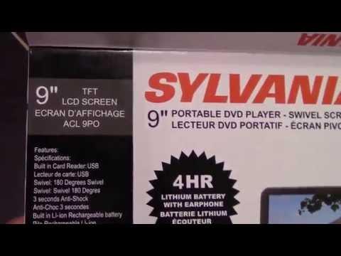Unboxing The Sylvania 9