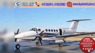 Sky Air Ambulance in Mumbai with Developed Medical System