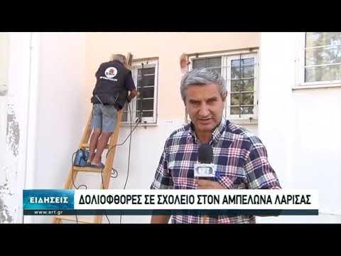 Άγνωστοι σφράγισαν τις πόρτες στο Λύκειο Αμπελώνα Τυρνάβου | 14/10/2020 | ΕΡΤ