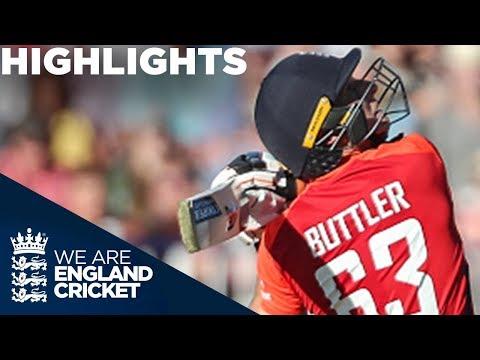 Buttler Leads England To Huge Score   England v Australia IT20 2018 - Highlights