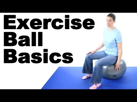 Exercise Ball Basics with King Athletic Fitness Ball - Ask Doctor Jo