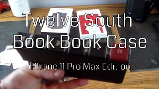 Twelve South Book Book for iPhone 11 Pro Max Edition
