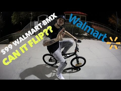 THE $99 WALMART BMX! (TRY BEFORE YOU BUY)