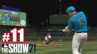 SEAGER CRUSHES! | MLB The Show 21 | Diamond Dynasty #11