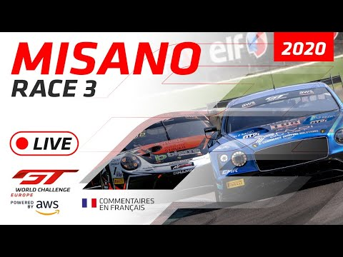 RACE 3 – MISANO – GTWC EUROPE 2020 – FRENCH