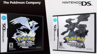 Pokemon Black and White video