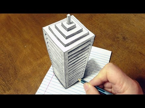 how to draw big buildings by sandor vamos