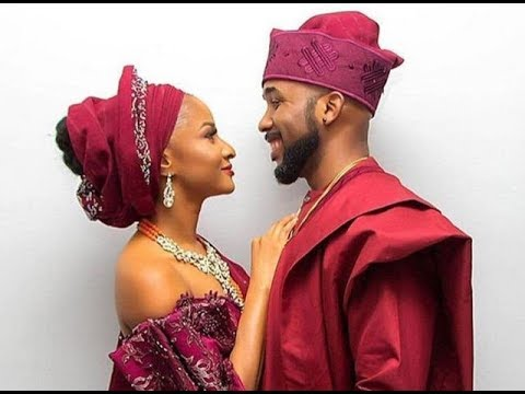 Scene from banky w and adesua wedding