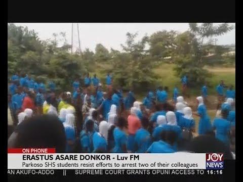 Police-Students Clash - The Pulse On JoyNews (17-7-18)