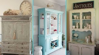 ❤DIY Shabby Chic Style Hutch Decor Ideas❤ | Home Decor & Interior Design | Flamingo Mango|