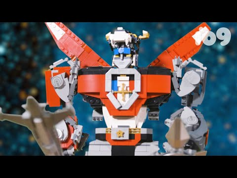 We Built This Massive LEGO VoltronSo You Don't Have To
