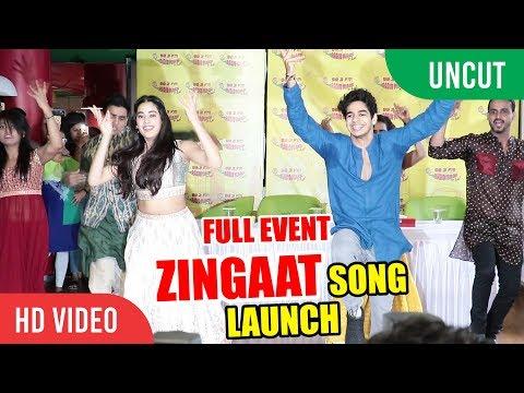 Zingaat Hindi Song Launch | Dhadak | Ishaan & Janhvi | Ajay Atul