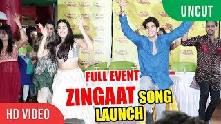 Zingaat Hindi Song Launch | Dhadak | Ishaan & Janhvi | Ajay Atul