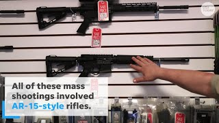 'Assault Rifles' Aren't the Weapon of Choice for 'Active Shooters'