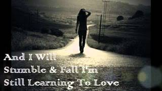 Say Something (I'm Giving Up On You) - Lyrics