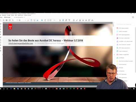 Webinar: So holen Sie das Beste aus Acrobat DC heraus  Adobe DE