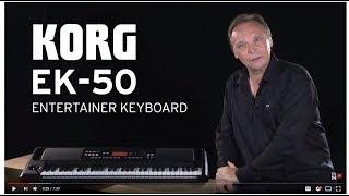 Korg EK-50 - Video