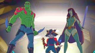 """Marvel - Команда """"Мстители"""" -  Сборник мультфильма все серии подряд, сезон 1 серии 21-23"""