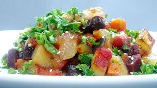 Рецепт   Овощное Ассорти в духовке