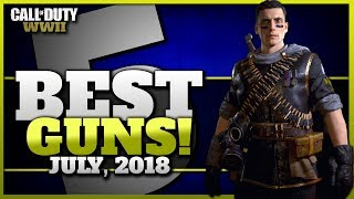 Top 5 Best Guns Currently In CoD WW2!
