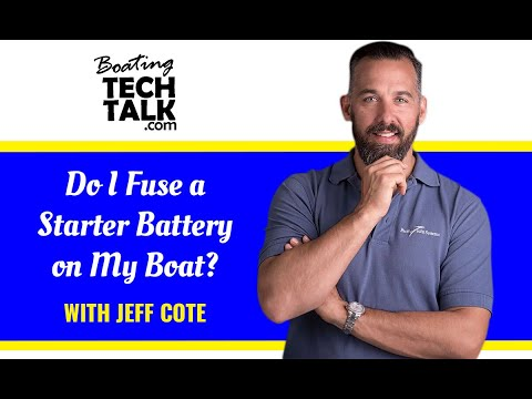 Do I Fuse a Starter Battery on My Boat?