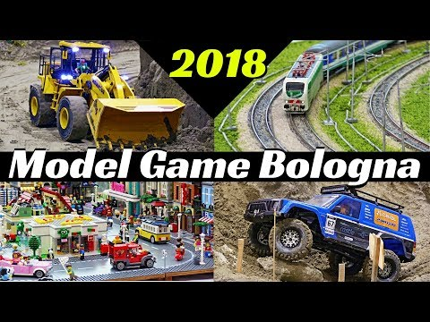Model Game 2018 Bologna - Highlights - Boats, Trucks, RC Drift, Trains, Lego, Diorama & More!