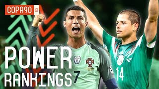 Portugal,  Mexico, and World Cup Underdogs Ranked   COPA90 Power Rankings