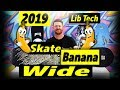Lib Tech Skate Banana Wide Snowboard - video 1