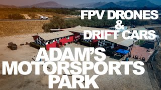 FPV Drones at Adam's Motorsport Track!