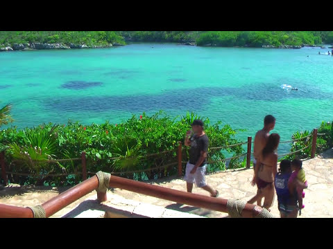 Xel-Ha, Mexico, popular water park for snorkeling in Cancun HD