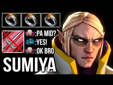 OMFG SumiYa Invoker - Counter PA Mid Most Epic Magic Show - Crazy Combo Disaster Game 7.07 Dota 2