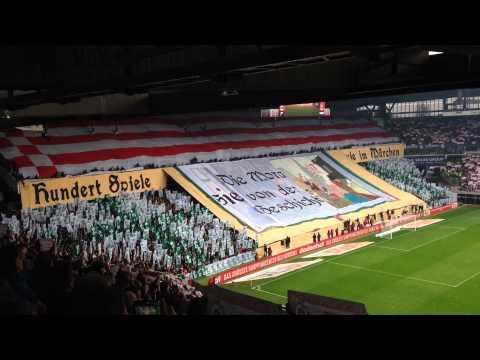 Choreo SV Werder Bremen-Hamburger SV 01.03.2014 100. Nordderby