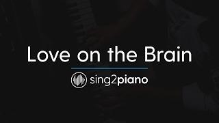 Love On The Brain (Piano Karaoke Instrumental) Rihanna