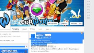 How to get Gems on Coupon Code *For New People* *Ourworld*