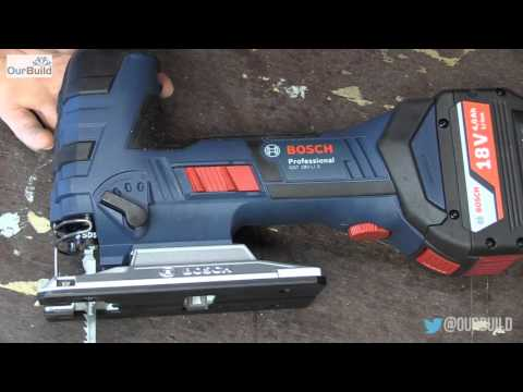 Tool Review- Bosch 18V Jigsaw