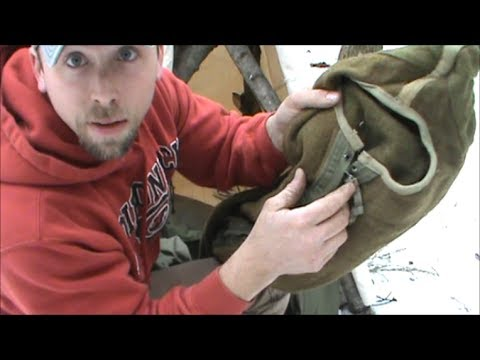 World War 2 Wool Sleeping Bag Review