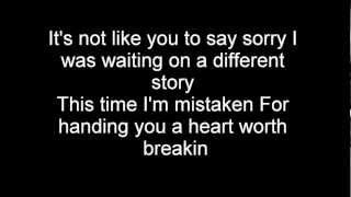 Nickelback- How you remind me- lyrics (HQ) (High Quality Mp3)