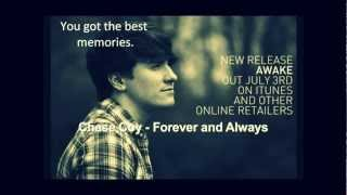 Chase Coy- Forever and Always LYRICS