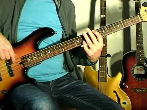 The Isley Brothers - Behind The Painted Smile - Bass Cover