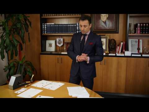 Briefpapier mit Familienwappen von Pro Heraldica